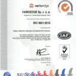 Certyfikat ISO 9001 FR